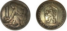 Moeda de 1 Coroa, 1962